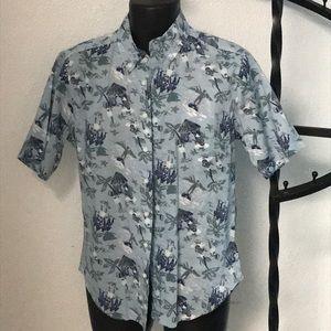 Reyn Spooner Tailored Fit Hawaiian Shirt (S)